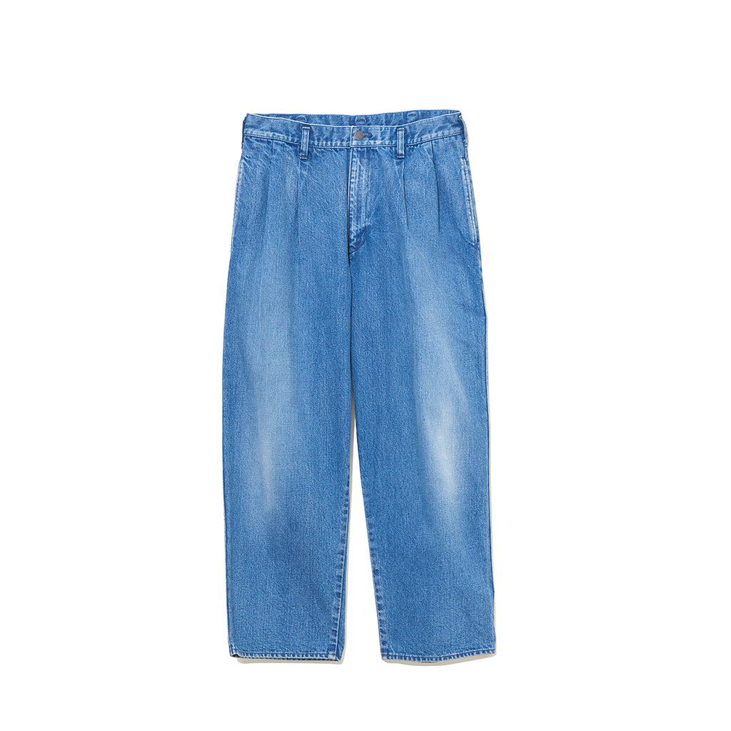 DENIM WIDE PANTS / INDIGO (21A-NSA-PT-07)
