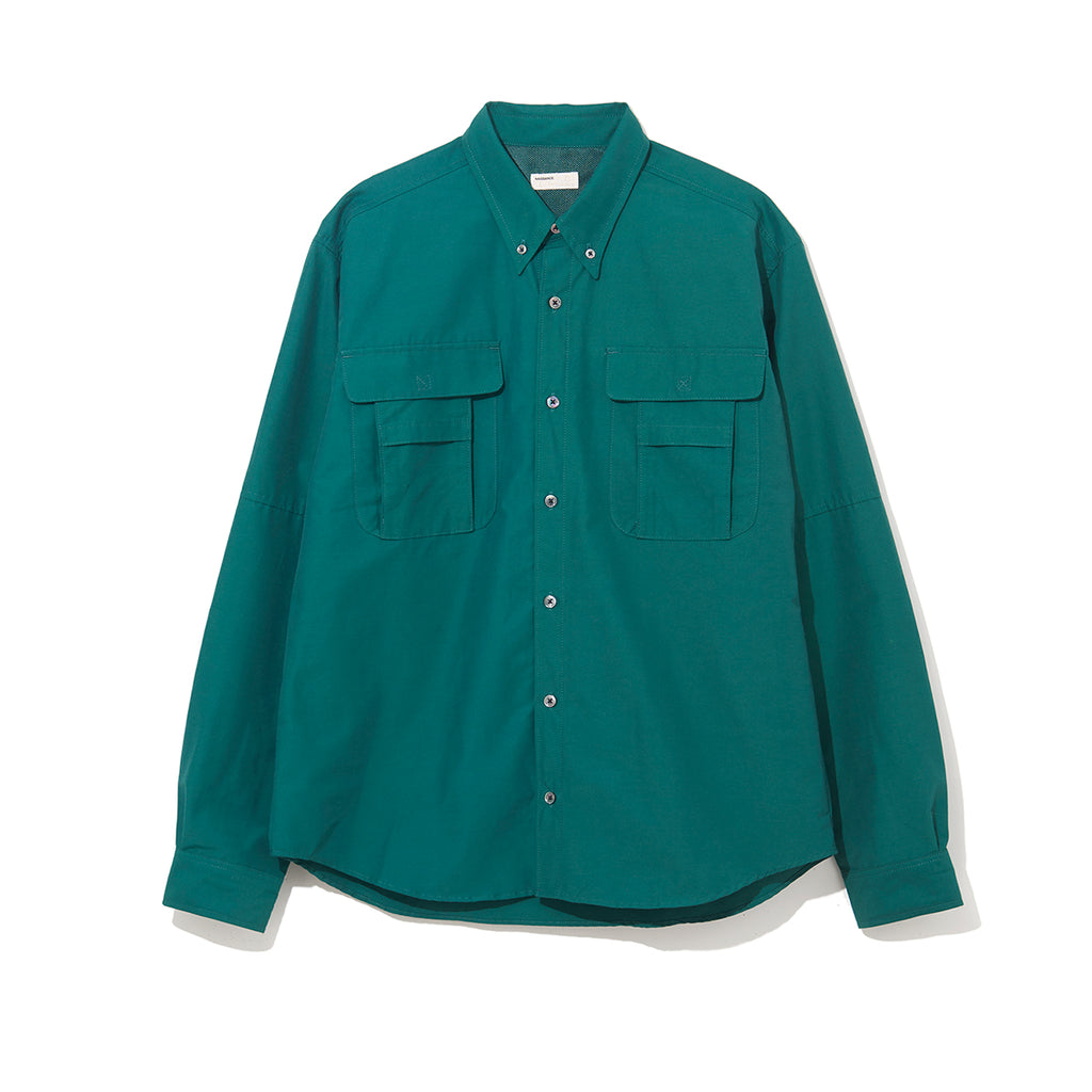 FISHING SHIRT / GREEN (21A-NSA-SH-01)