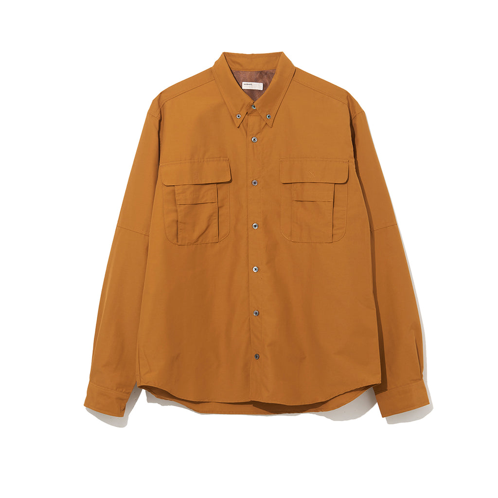 FISHING SHIRT / ORANGE (21A-NSA-SH-01)