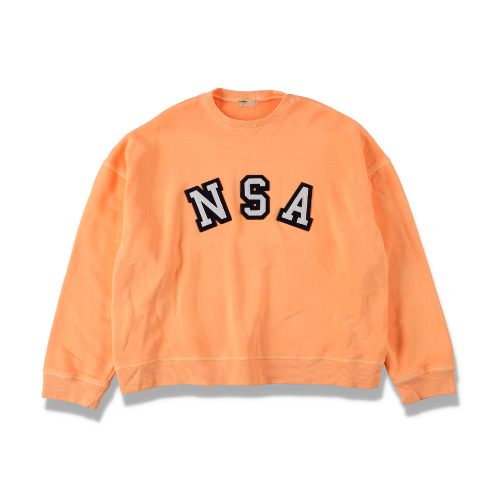 NSA CREW SWEAT / ORANGE (21S-NSA-CS-02)