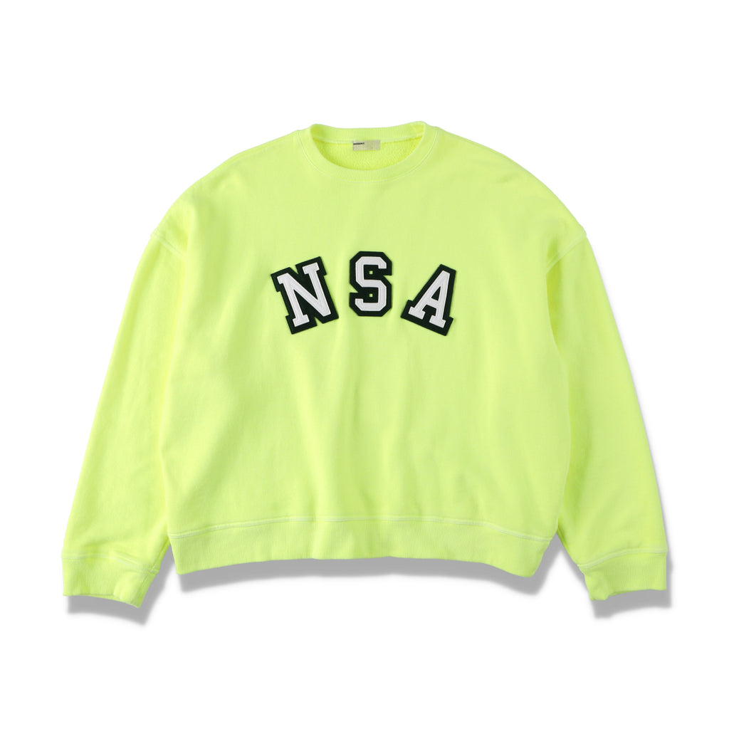 NSA CREW SWEAT / YELLOW (21S-NSA-CS-02)