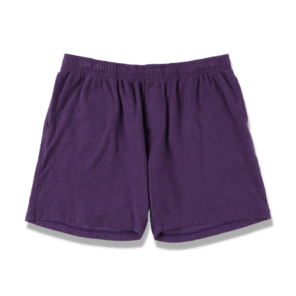 PILE SHORT PANTS / PURPLE (21S-NSA-PT-12)