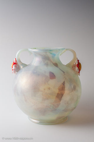 Vase by Hans Stoltenberg Lerche, made by Paulo Pinzan  A.Ve.M.
