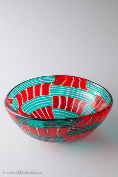 Bowl oval unique piece by Anfora signed