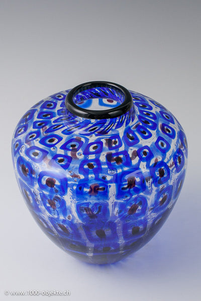 Vittorio Ferro. Murrine-vase. Unique piece.