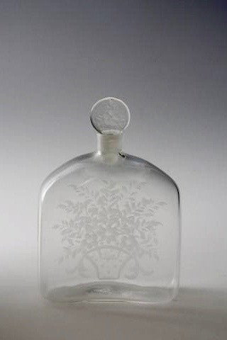 Vintage perfume bottle from Franz Pelzel for S.A.L.I.R
