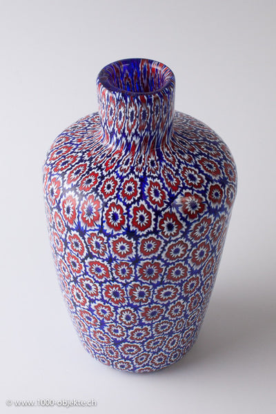 Vittorio Ferro. Murrine vase. Unique piece