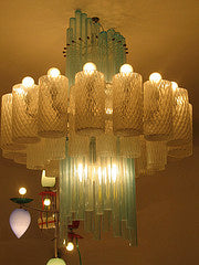 Barovier & Toso. Ceilinglamp - Chandellier 1971.