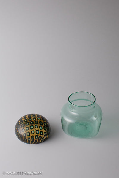 Jar with lid. Ludovico Diaz de Santillana for Venini 1965