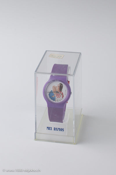 Mel Ramos limited edition Pepsi Girl watch.