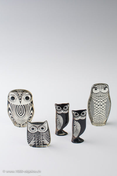 Abraham Palatnik Set of 5 Owls