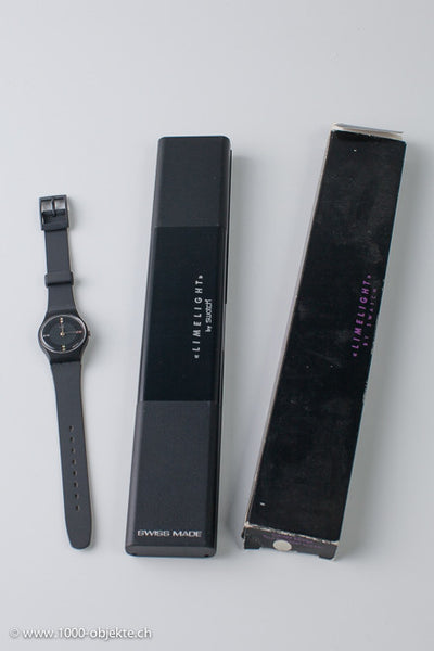 """Limelight"" never worn swatch watch in Original release box."