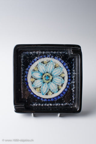 Bitossi Ashtray (Porcelain and Glass)