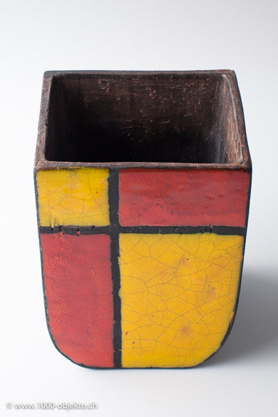 "Ceramic-object ""Mondrian"" Aldo Londi for Bitossi"