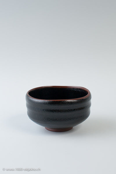 Chawan Raku Teebowl Japan, Meiji, 1900, Japanese tea ceremony.