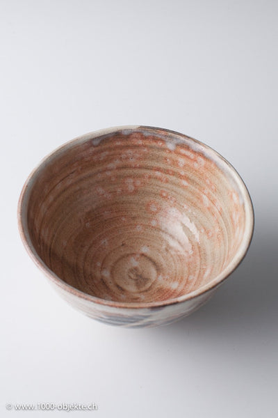 Kobiki Chawan Teacup by Yamane Seigen, Hagi, Japan
