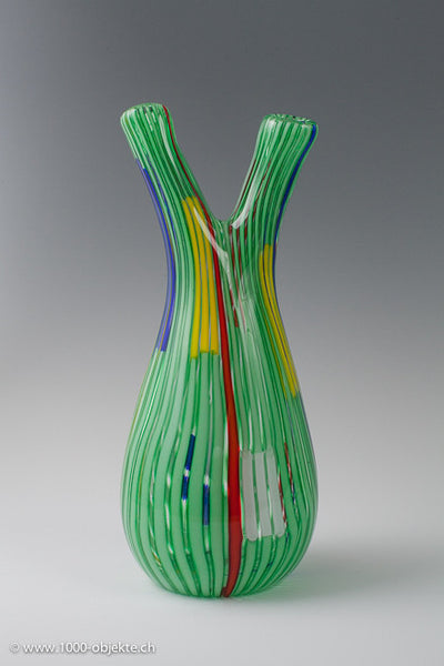 """Bandiere Vase"", valentino 1955-1958, Anzolo Fuga for A.ve.M."
