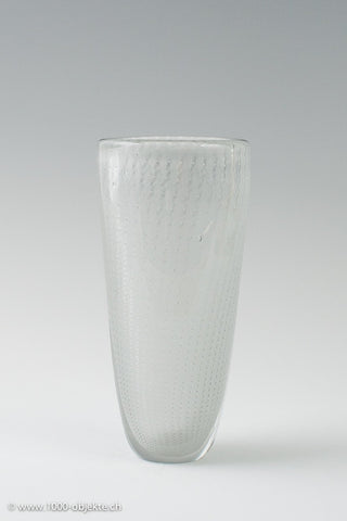 Nuutajarvi Notsjo glass vase, designed by Kaj Franck 1952