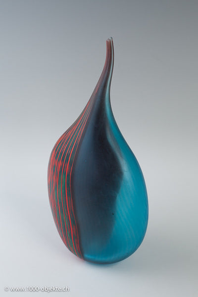 Vase,  1998  Afro Celotto. Studio glass