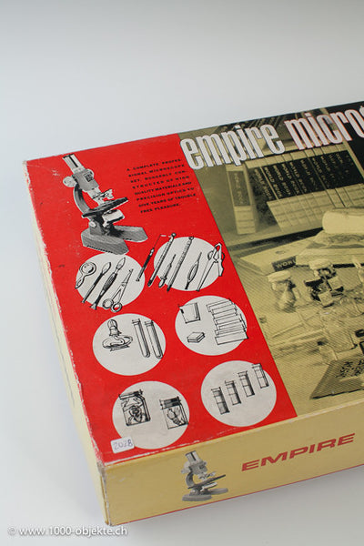 Vintage Empire Microscope Set 1965 Model 642