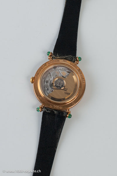 Cleto Munari. Wristwatch, 18k gold. Michael Graves 1986