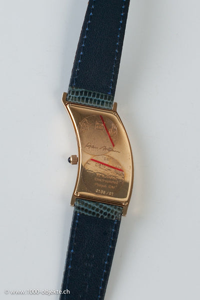 Cleto Munari. Lady-wristwatch, 18k gold.