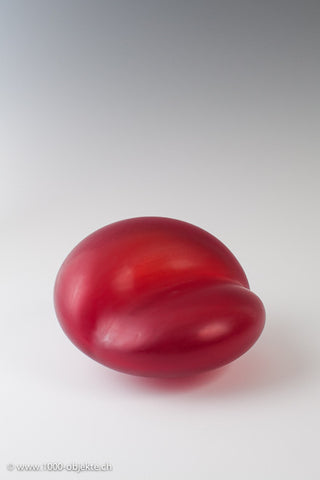 """Rosso"". Studio-glass by Thomas Blank"