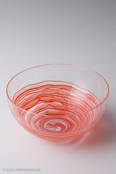Bowl Toni Zuccheri for Venini. 1970.