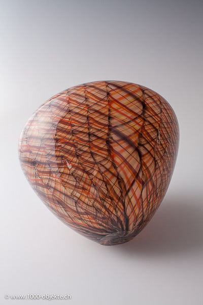 """Merletto"". Studio-glass by Thomas Blank"