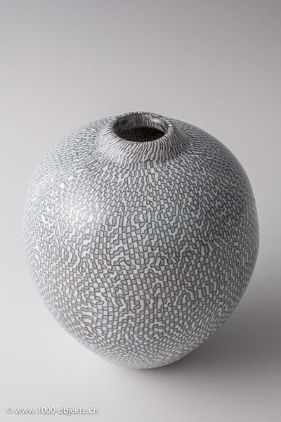 Vittorio Ferro. Murrine-vase. Unique piece