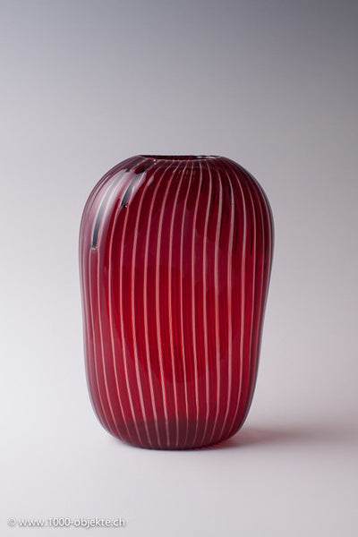 """Clio Vase"". Sergio Asti for Salviati 1963"