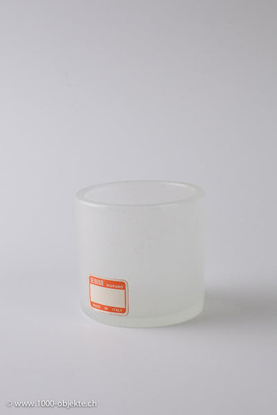 "Rare ""Pulegoso-Vase"" Seguso with orange label."