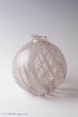 Large ball vase by Livio Seguso for Pauly