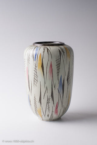 Porcelain Vase Signed - Ulla Wächtersbach Germany