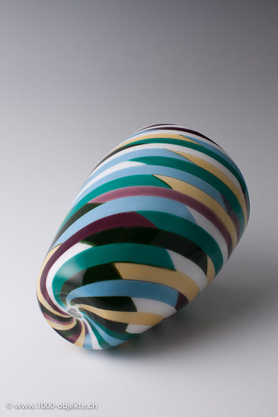 """Klee"" vase by Laura Diaz de Santillana for Venini"