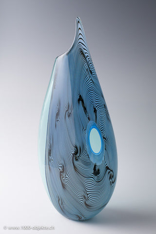 "Vase ""Rostro"" by Giampaolo Seguso, limited Edition"