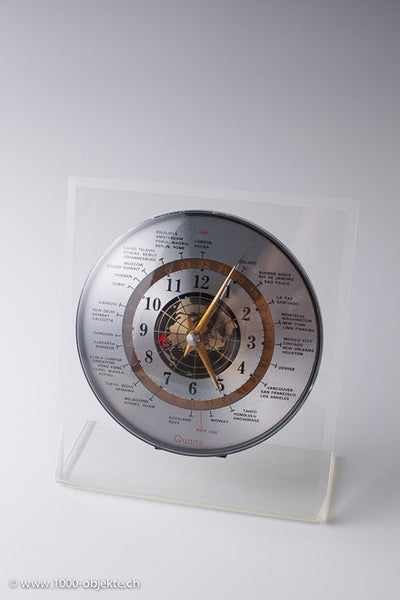 Vintage world clock 70's