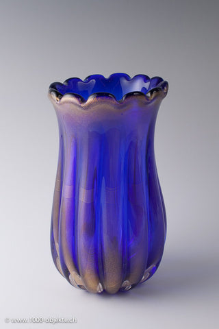 Murano vase attributed Seguso or Barovier & Toso.
