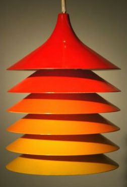 Associated Poul Henningsen 1957 lamp