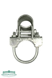 "Bull Dog Gate Hinges (2-3/8"" to 6-5/8"") Galvanized - FenceSupplyCo.com"