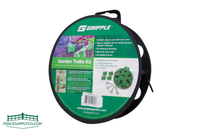 Gripple Garden Trellis Kit, 165FT - FenceSupplyCo.com