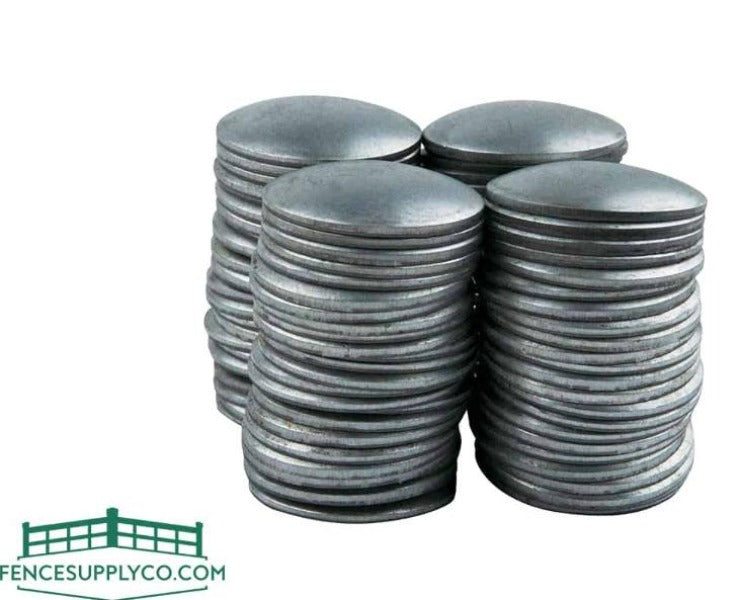 """5 Pieces Combined Order domed Steel weld on 4/"""" OD Pipe caps"""