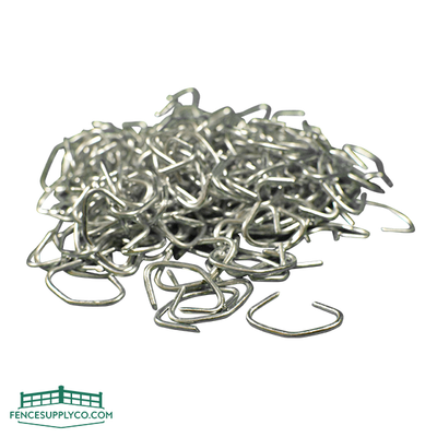 Hog Rings 12-1/2 Gauge - Galvanized - FenceSupplyCo.com