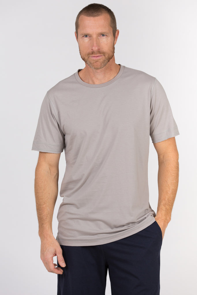 100% Peruvian Pima Cotton Luxe Crewneck - <i> 7 colors available </i>
