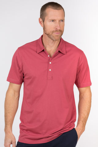 100% Peruvian Pima Cotton Luxe 4 Button Polo - <i> 7 colors available </i>