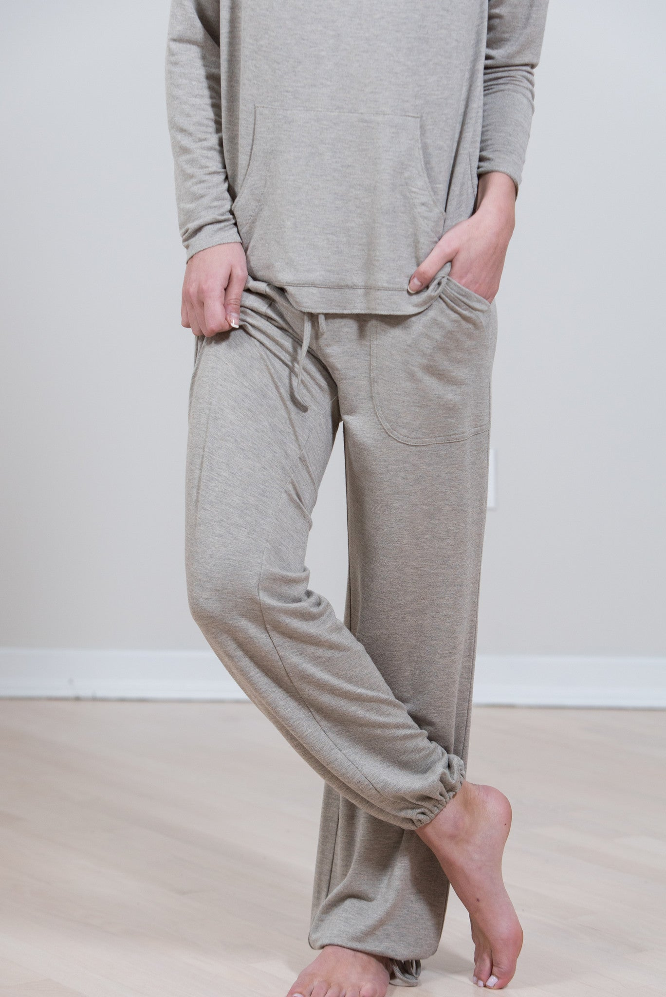 Desert Heather Modal/Spandex Pant