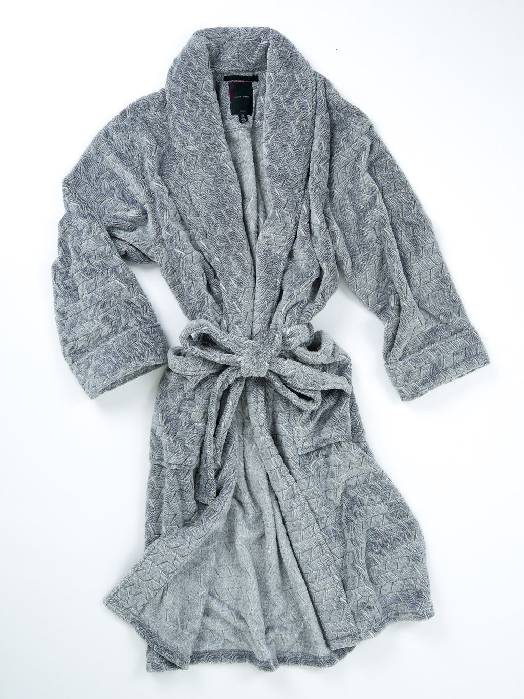 Plush Tiled Heather Jacquard Robe - 4 colors available