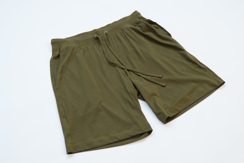 ~NEW~100% Peruvian Pima Cotton Olive Short