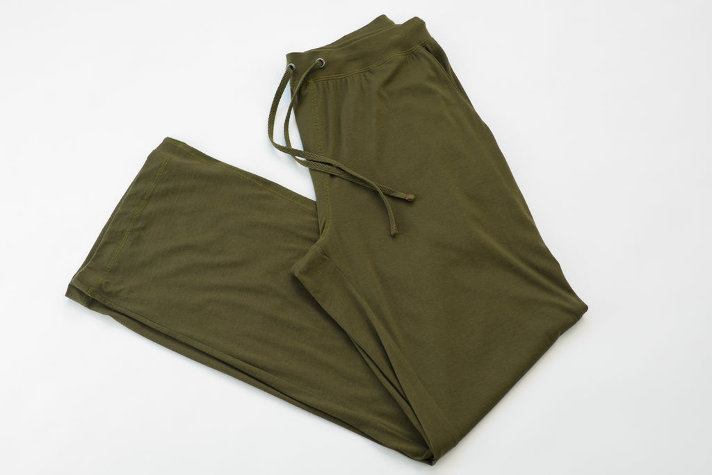 ~NEW~ 100% Peruvian Pima Cotton Olive Pant
