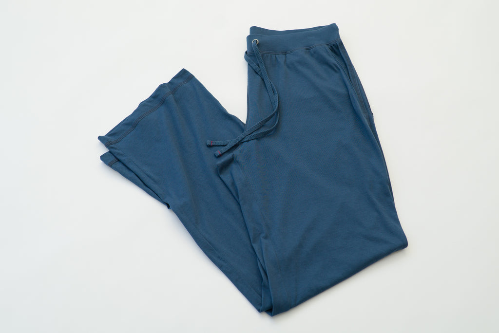 ~NEW~ 100% Peruvian Pima Cotton Denim Blue Pant